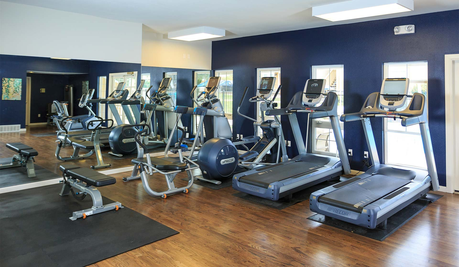 Boulder Creek Apartments - Boulder, CO - fitness center