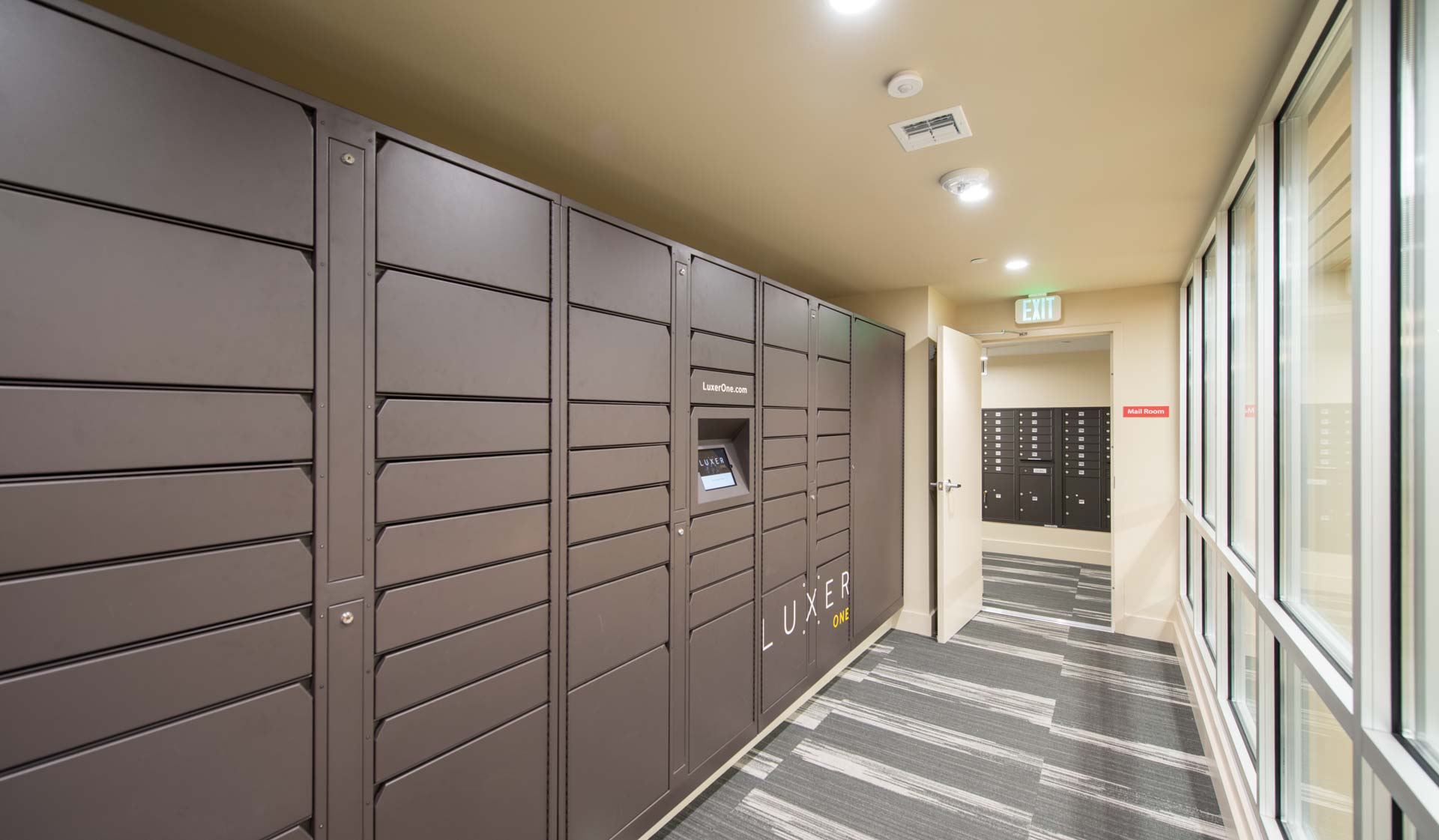 Boulder Creek Apartments - Boulder, CO - package lockers